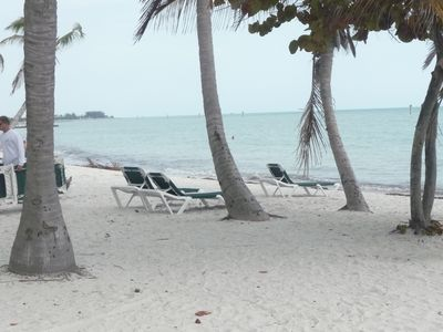 Smather's Beach has beach chair rentals, volleyball, sailboat rentals and more.