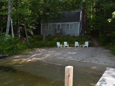 Photo for Charming cottage with fireplace, peaceful location, Winter Harbor.