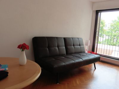 Photo for Standing studio + secure parking in the basement. Near the castle