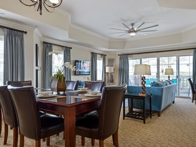 Photo for Bright and Spacious Luxury Condo Close to Disney - Great Golf Views!