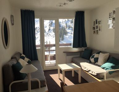 "Photo for A 2-room apartment for 4/5 persons near the slopes of the ""Portes du Soleil"""