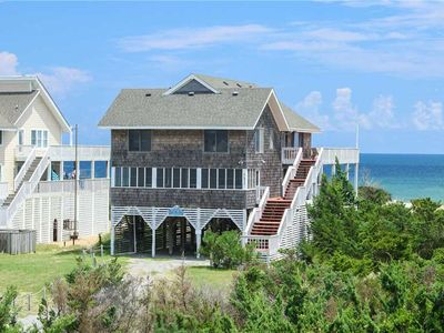 Photo for Livin the Dream Oceanfront in Avon w/Great Ocean Views