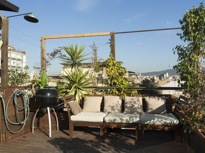Photo for artists' house - duplex - terrace with 360 ° view of the city