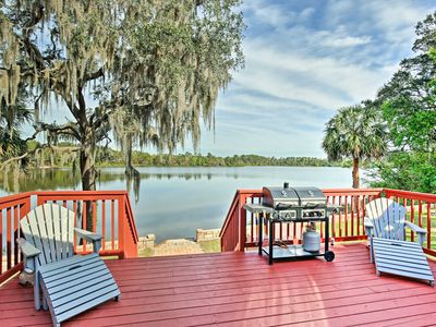 Photo for Ocklawaha House on Lake Fay w/Pool Table & Hot Tub