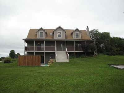 Photo for Intro Special on Plush Galena Getaway With Great View, Hot Tub, Pool Table