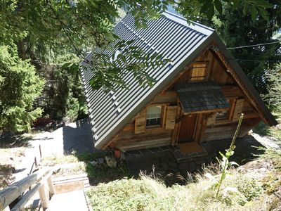 Photo for Chalet 6 to 8 people south facing with views, ideal for family with children
