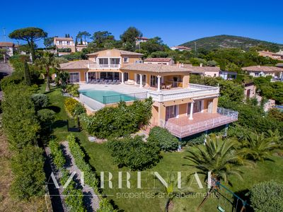 Photo for Very nice new built villa with lovely view to the landscape and the sea