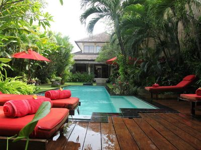 Photo for Hidden oasis with private pool in the heart of Seminyak & only 10 mins to beach