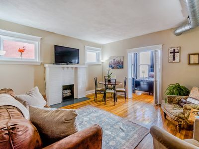 Photo for Entire 2Bed 1Bath Condo by Forest Park, WashU & The Delamar Loop in St Louis