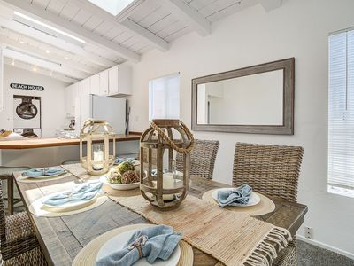 """Photo for """"Once Upon A Tide"""" Adorable 4 Bed Beachy Condo, Steps To Sand And Balboa Village"""