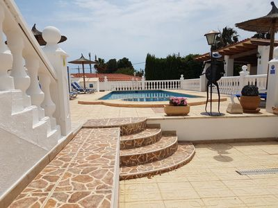 Photo for BENIDORM LYNROYS VILLA Pool table,Jacuzzi,table tennis,Golf, Sports,family hols