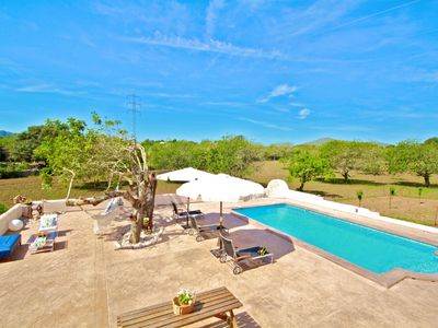 Photo for Very quiet Finca Sa Caseta with pool Special rates for 2 persons please inquire