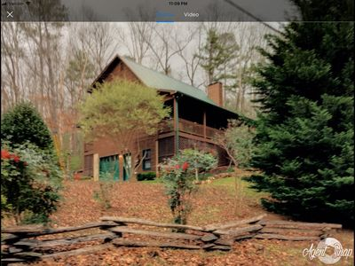 Photo for North GA Mountains cosy upscale cabin w/generator in Coosawattee River Resort