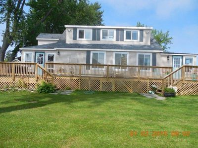 Photo for LEXINGTON, MI. 7514 Cedar Rd., Amazing Lake Views From Every Window and 50' Deck