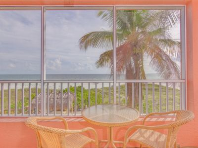 Photo for Gulf Front One Bedroom on Fort Myers Beach/ Estero Island- Unit 103