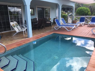 Photo for Antigua Villa with Private Pool and Garden
