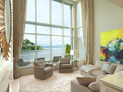 Photo for Waterfront Seattle Sun-drenched Luxury Home