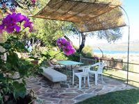 A lovely villa with incredible views and very hospitable hosts.
