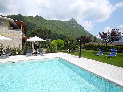 Photo for 2 bedroom Apartment, sleeps 6 in Rocca d'Anfo with Pool and WiFi