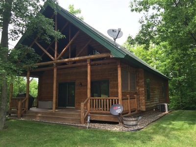 Photo for Short Putt Cabin is a Beautiful Log Cabin on Scenic Northwood Hills Golf Course