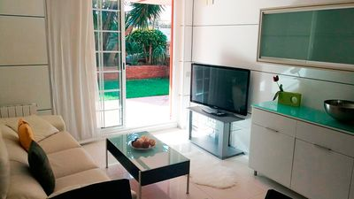 Photo for Luxury apartment 1 minute from the beach castelldefels