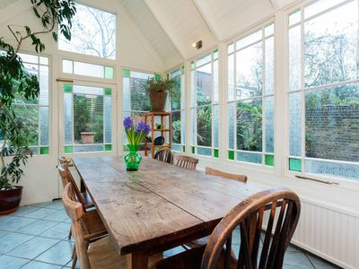 Photo for Enchanting 1 bed home with conservatory flooded with natural light (Veeve)