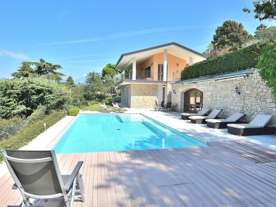 Photo for Villa Sybille With Pool And Lake View - Villa for 7 people in Torri del Benaco