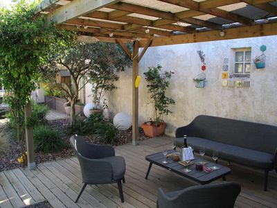 Photo for Charming holiday home in Grau d'Agde. 100m from the beach and shops
