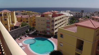 Photo for Penthouse -2 Bed -2 Bath -Free Wi-Fi -UK TV -Winter Gardens, Golf Del Sur