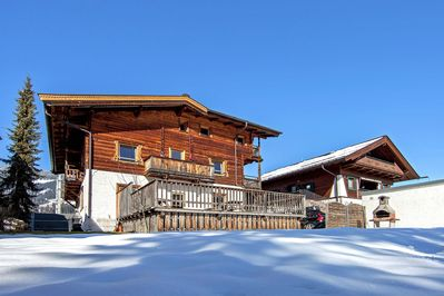 Holiday Home Exterior [winter]
