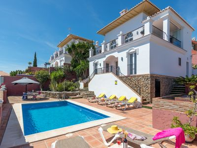 Photo for Detached villa located in Nerja with fantastic views over the sea and mountains.