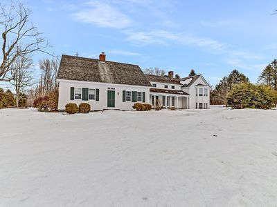 Photo for Historic waterfront farmhouse w/ private swimming pond, porch, & free WiFi!