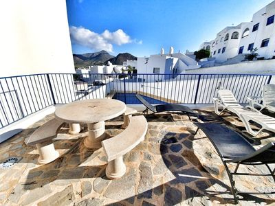 Photo for Beautiful Apartment-  private terrace -  shared Swimming Pool and BBQ Terrace