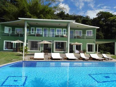 Photo for Pty004 - Magnificent 7 bedroom villa with breathtaking views in Paraty
