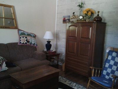 Entertainment armoire and sofa bed