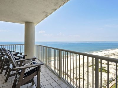 Photo for Total Renovation! Beach Club Avalon Penthouse 2003 Direct Gulf Views