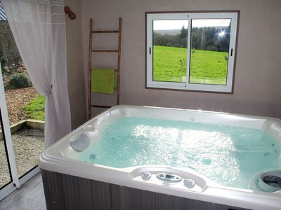Photo for Gîte 4 p near the sea in the bay of Douarnenez with private SPA