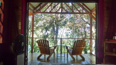 Photo for Surf Break At Paunch: Enjoy The Surf And Tree House Views In Our Tree Cabin