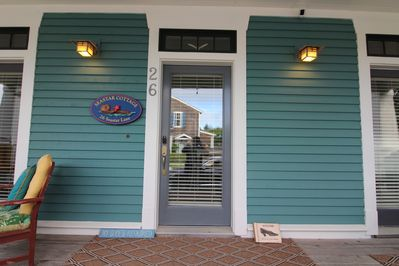 look for our smiling otter sign on the front of the home.