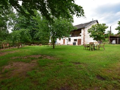 Photo for Lovely holiday home with luxurious swimming pool in the Vosges nature reserve