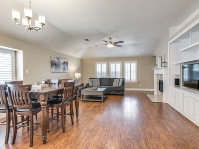 Photo for Furnished Home with 4BR/2BA right off the Dallas North Tollway