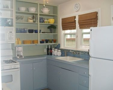 Photo for 50 steps to the sand! Charming, Beach Cottage 4 blocks to Pier & Main St.