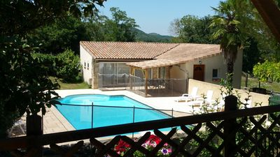 Photo for Four self-catering cottages in an old farmhouse with pool - 'Loire'