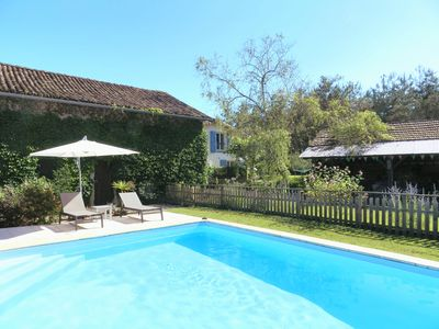 Photo for Contemporary Gîte with Solar-Heated Pool