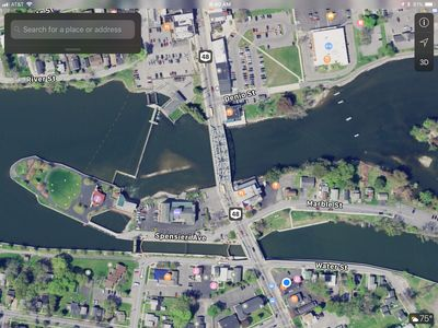 Photo for Marble Island 9a - Village Waterfront with dockage, parking, restaurants ...