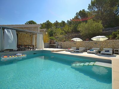 Photo for Vacation home Puigferrer in Selva - 6 persons, 3 bedrooms