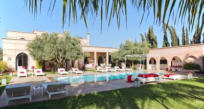Photo for Holiday house Marrakech for 1 - 9 persons with 4 bedrooms - Luxury holiday home
