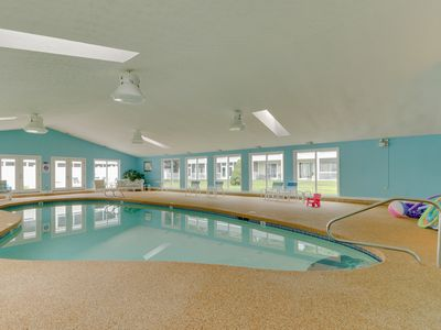 Photo for NEW LISTING! Condo w/porch & seasonal pool/sauna -near beach