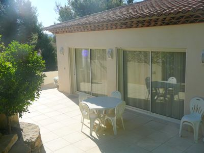 Photo for EXEPTIONAL VILLA recent, independent, quiet comfort 4 pers, 7Km from the