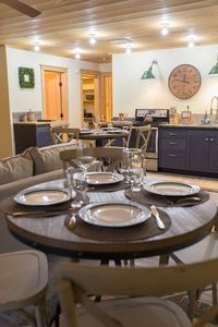 Dining tables and chairs for 6-8